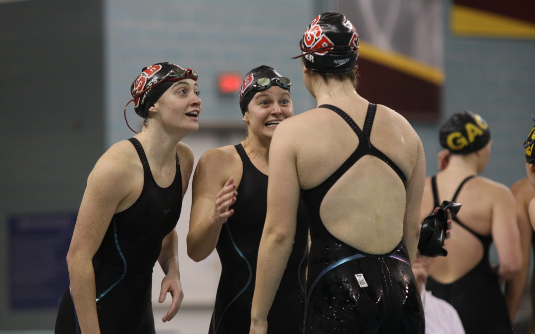 Reaching the finish: Swim and dive finish seasons with personal bests, including a men's MIAC Champion