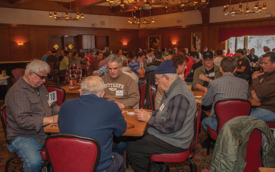 Cribbage bringing people together: St. John's alumnus hosts annual cribbage tournament at Jax Cafè in Minneapolis to keep alumnae connected
