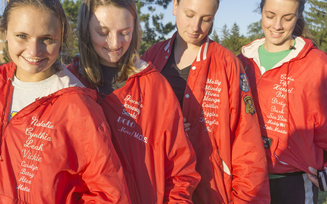 Passing rugby jackets: not just a tradition