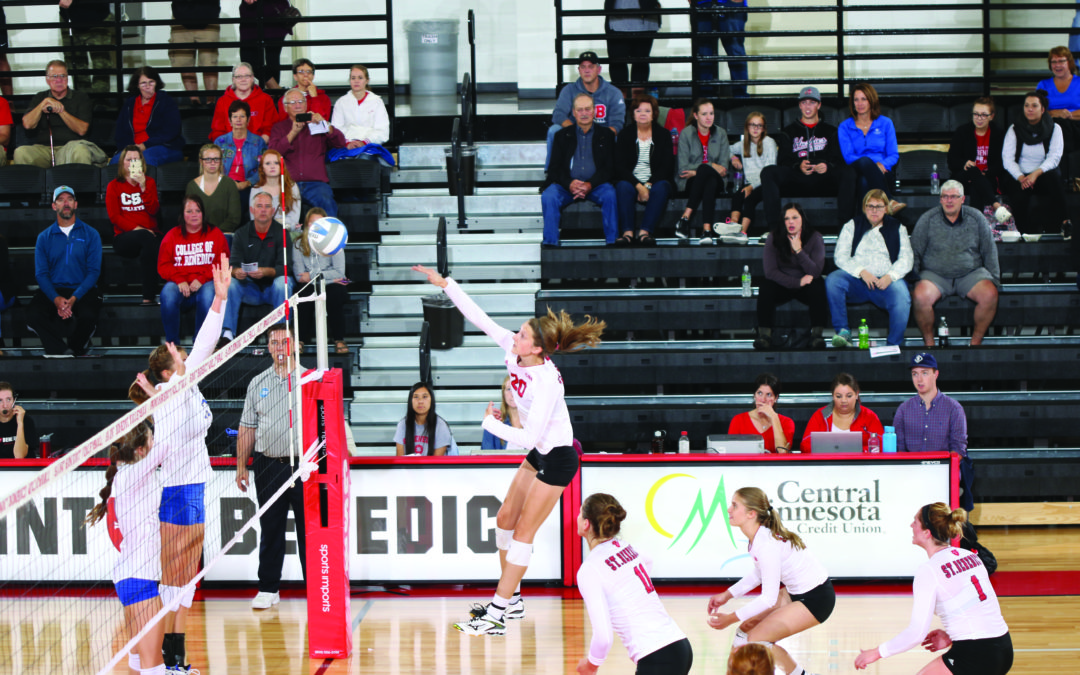 CSB volleyball stays hot